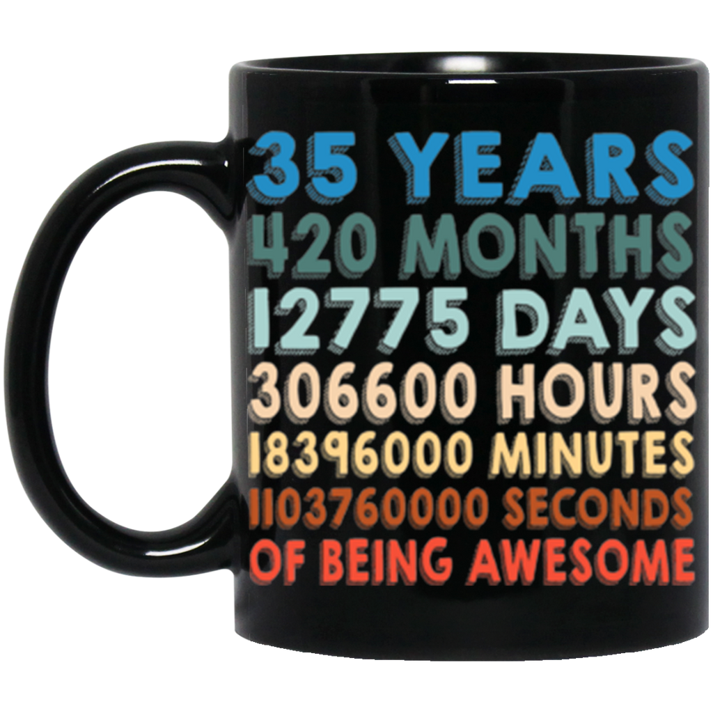 35th Birthday Coffe Mug