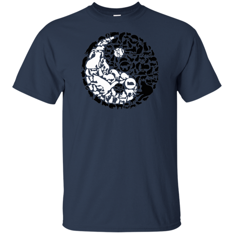 Ying Yang Cats Tee Shirt | Sweet Gift For Cat Lovers
