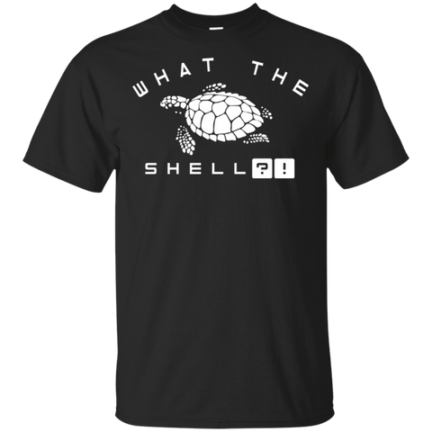 What The Shell T-Shirt | Funny Turtle Tee Shirt