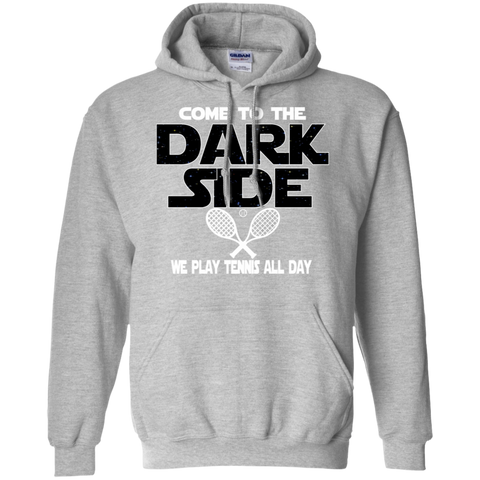 Tennis Hoodie Tennis Player Hoodie Tennis Fan Gift Tennis Gift Tennis Fan Hoodie Come To The Dark Side We Have Tennis Rackets Hoodie