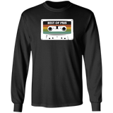 1985 Birthday Long Sleeve T-shirt Best Of Retro Vintage Casette Tape Old Tech