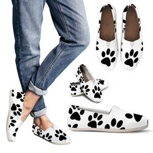Paw Print Women's Casual Shoes