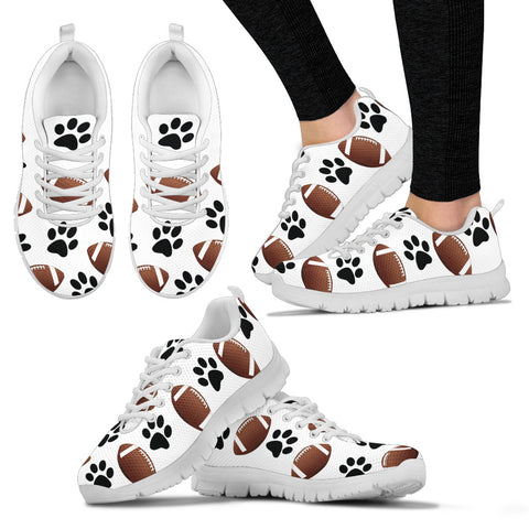 Dogs & Football Sneakers