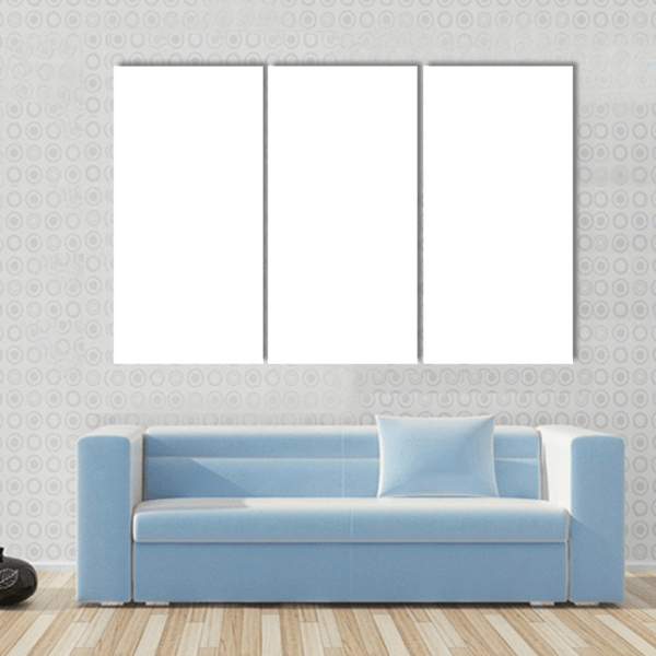 3 Panels Print - Custom Horizontal Canvas Set Tiaracle
