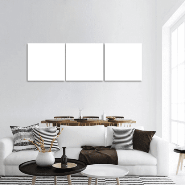 3 Panels Print - Custom Panoramic Canvas Set 74x24 / Canvas Tiaracle