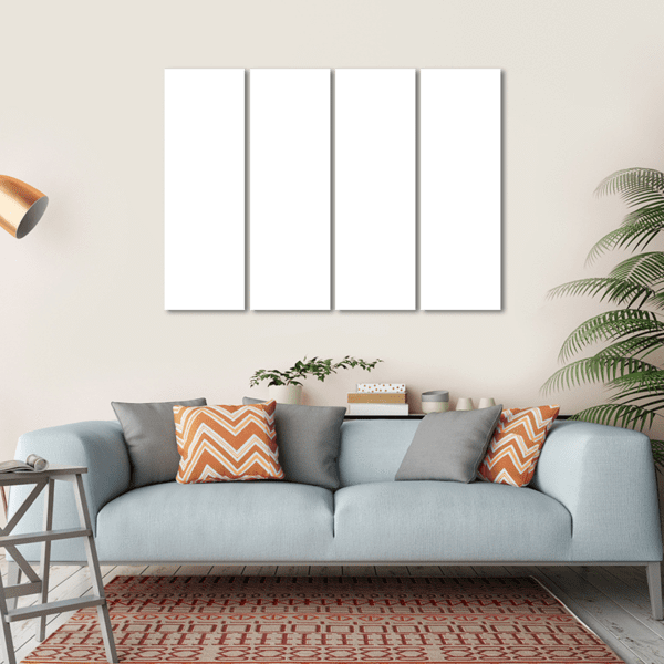 4 Panels Print - Custom Horizontal Canvas Set 45x30 / Canvas Tiaracle