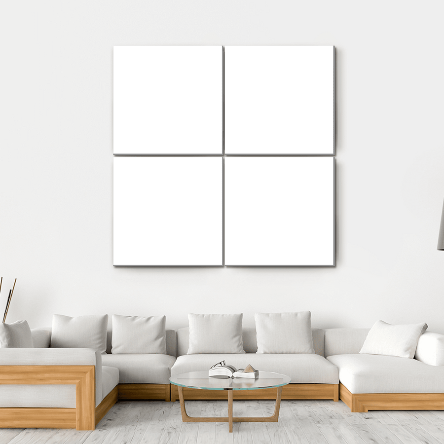 4 Panels Print - Custom Square Canvas Set 50x50 / Canvas Tiaracle