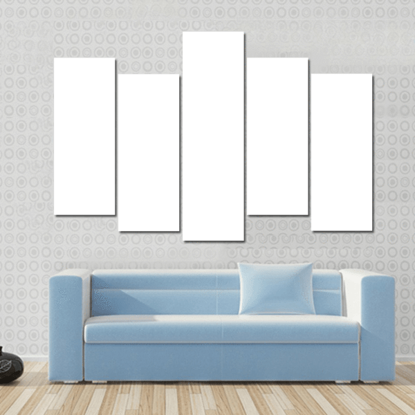 5 Panels Print - Custom Pop Horizontal Canvas Wall Art