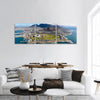 Aerial View Of Cape Town, South Africa Panoramic Canvas Wall Art 3 Piece / Small Tiaracle