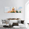 Ancient Historic Building In Cuba Panoramic Canvas Wall Art 3 Piece / Small Tiaracle