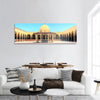 Ancient Historic Mosque In Old Cairo Panoramic Canvas Wall Art 1 Piece / Small Tiaracle