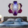 Angel Wings Hexagonal Canvas Wall Art 7 Hexa / Small / Gallery Wrap Tiaracle