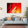 Anti Aircraft Missiles Canvas Wall Art-4 Horizontal-Small-Gallery Wrap-Tiaracle