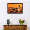 Astronaut And Mars Rover Multi Panel Canvas Wall Art-Tiaracle