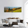 Autumn In Carpathian Mountains Panoramic Canvas Wall Art 1 Piece / Small Tiaracle