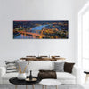 Bangkok Highlight View Panoramic Canvas Wall Art Tiaracle