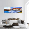 Beautiful Landsberg am Lech Village Panoramic Canvas Wall Art 3 Piece / Small Tiaracle