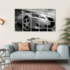 Beautiful Sports Car Multi Panel Canvas Wall Art 5 Horizontal / Small / Gallery Wrap Tiaracle