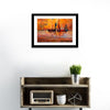 Boats And Sea Illustration Multi Panel Canvas Wall Art-Tiaracle