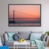 Bosphorus Bridge At Sunset Multi Panel Canvas Wall Art-Tiaracle