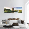 Brograve Windmill In England Panoramic Canvas Wall Art 1 Piece / Small Tiaracle