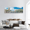 Capitol Building In Old Havana Panoramic Canvas Wall Art 1 Piece / Small Tiaracle