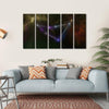 Capricorn Constellation Multi Panel Canvas Wall Art 5 Horizontal / Small / Gallery Wrap Tiaracle