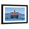 Cargo Container Ship Multi Panel Canvas Wall Art-Tiaracle