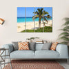 Caribbean Beach Multi Panel Canvas Wall Art 4 Horizontal / Small / Gallery Wrap Tiaracle