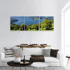 Carpathian Lake In Romania Panoramic Canvas Wall Art Tiaracle