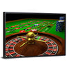 Casino Roulette Canvas Wall Art
