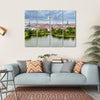 Center Of Copenhagen Multi Panel Canvas Wall Art 4 Horizontal / Small / Gallery Wrap Tiaracle