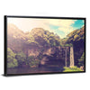 Cheonjiyeon Waterfall Canvas Wall Art