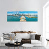 Chicago Skyline Panoramic Canvas Wall Art 1 Piece / Small Tiaracle