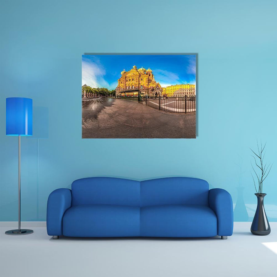 Church Of The Savior Canvas Wall Art-4 Horizontal-Small-Gallery Wrap-Tiaracle