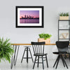 Cityscape In Perth Canvas Wall Art