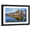 Collegiate Church And River Multi Panel Canvas Wall Art-Tiaracle