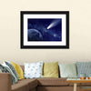 Comet Approaching Planet Multi Panel Canvas Wall Art-Tiaracle