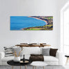 Cyprus Sea View Panoramic Canvas Wall Art 1 Piece / Small Tiaracle