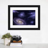 Deep Space Spiral Galaxy Multi Panel Canvas Wall Art-Tiaracle