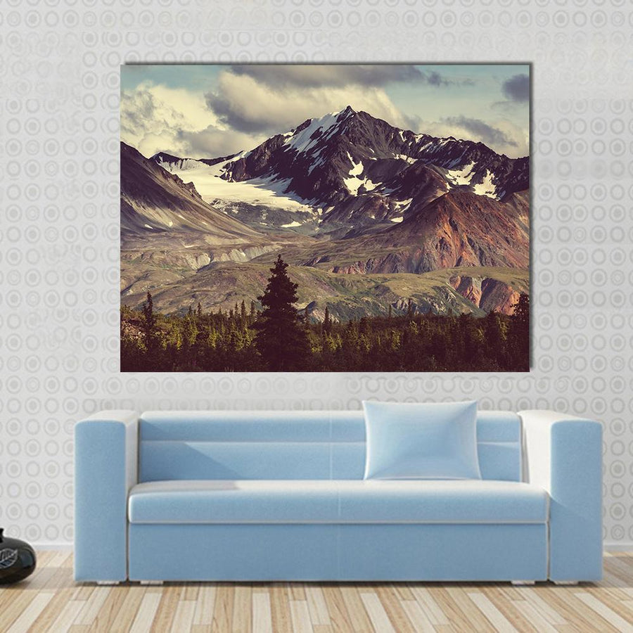 Denali  Landscapes Canvas Panel Painting Tiaracle