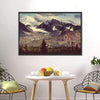 Denali Mountain, Alaska Multi Panel Canvas Wall Art-Tiaracle
