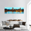 Downtown Denver In Colorado Panoramic Canvas Wall Art Tiaracle