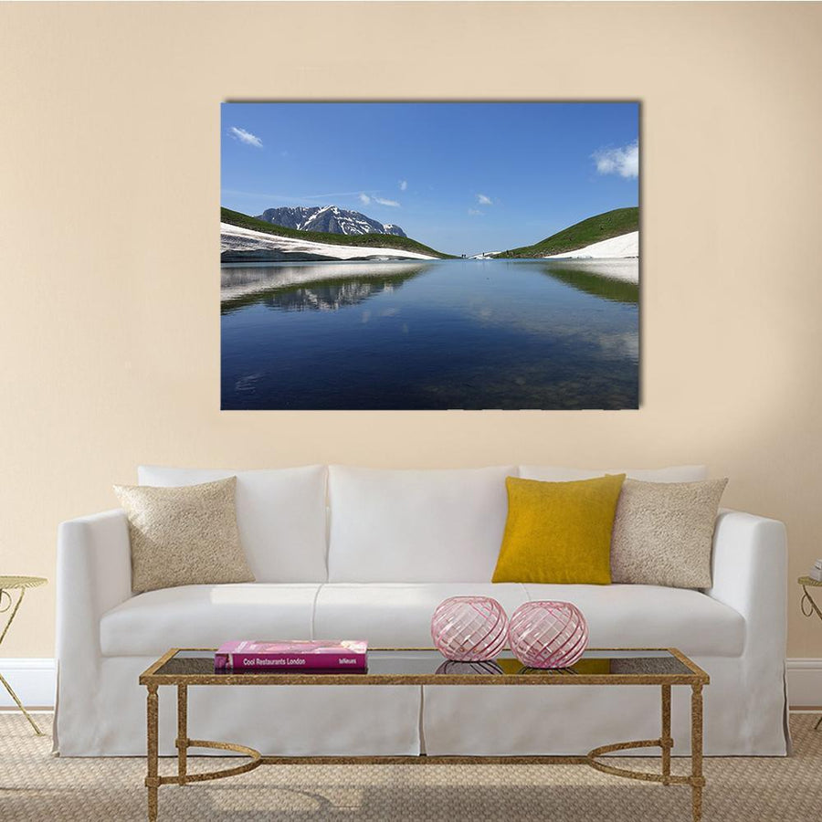 Dragon Lake Canvas Wall Art-4 Horizontal-Small-Gallery Wrap-Tiaracle