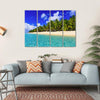 Dravuni Island Multi Panel Canvas Wall Art 4 Horizontal / Small / Gallery Wrap Tiaracle