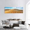 Dunes Of Thar Desert In Rajasthan Panoramic Canvas Wall Art 3 Piece / Small Tiaracle