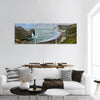 Durdle Door Beach In Dorset England Panoramic Canvas Wall Art Tiaracle