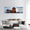 Eilean Donan Castle In Scotland Panoramic Canvas Wall Art 1 Piece / Small Tiaracle