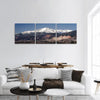 Evening View Of Pikes Peak In Colorado Panoramic Canvas Wall Art Tiaracle
