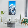 Everest Mountain Peak Vertical Canvas Wall Art-1 Vertical-Small-Gallery Wrap-Tiaracle